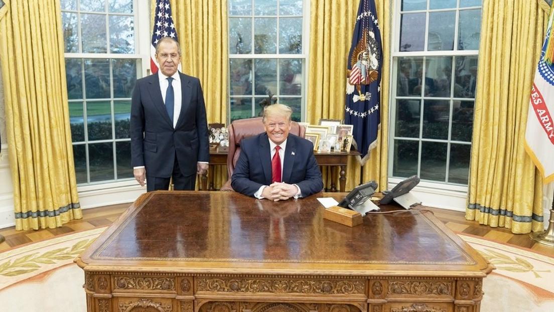 Lavrov, tras reunirse con Trump: Rusia puede demostrar que no hubo interferencia en las elecciones de 2016