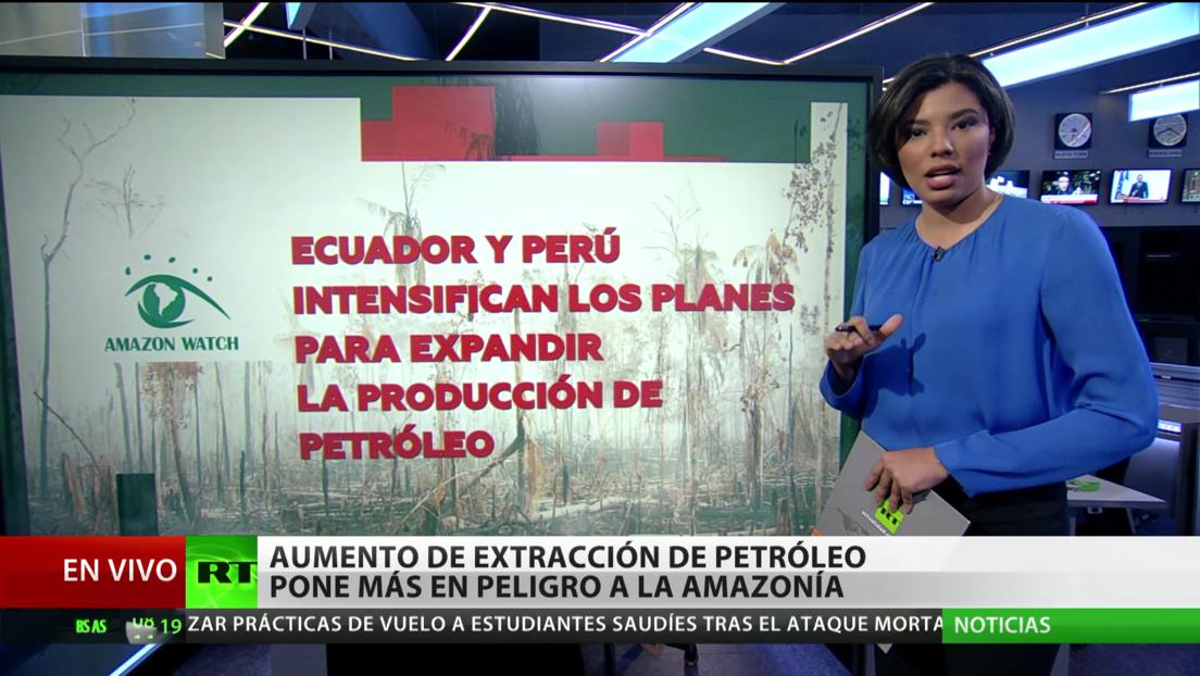 Proponen crear una zona de protección de la Amazonia para salvarla de la explotaciones mineras y petroleras