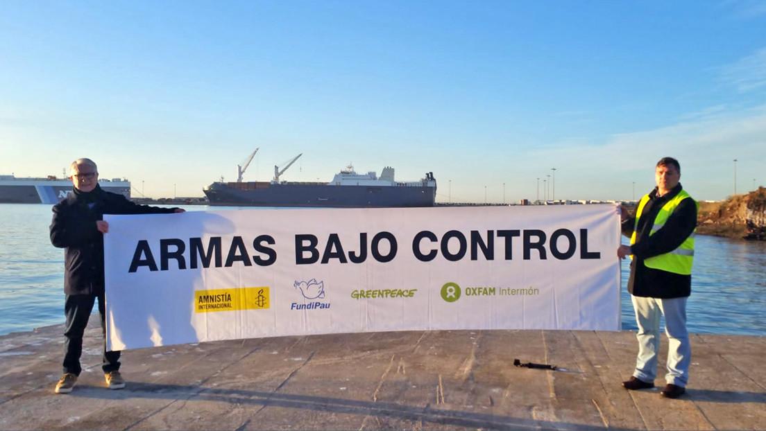 Qué se sabe del 'barco de la muerte' saudí que atracó en España y por qué ha provocado indignación