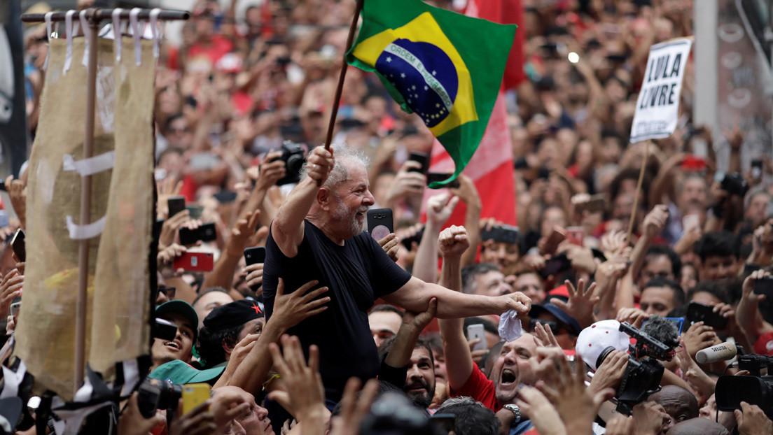 Lula saldrá a las calles en enero para hacer frente a Bolsonaro