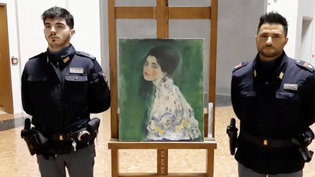 Un jardinero encuentra por casualidad la obra más buscada de Gustav Klimt en el mismo museo donde fue robada