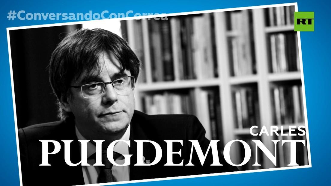 """Puigdemont a Correa: """"No hay solución al problema catalán que no pase por la independencia"""""""