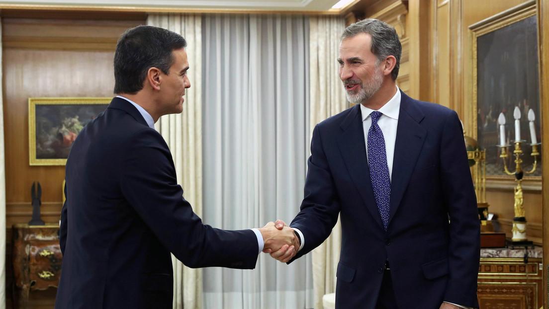 España: Pedro Sánchez acepta el encargo del rey de formar gobierno