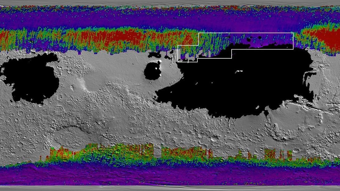 La NASA traza un mapa de los lugares de Marte donde podría obtenerse agua de forma sencilla