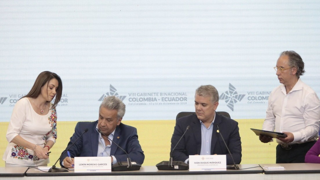 Presidentes de Ecuador y Colombia se comprometen a una mayor integración económica