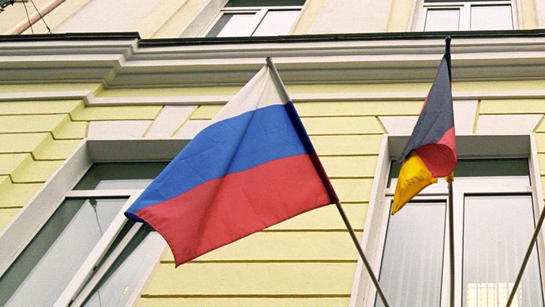 Rusia declara personas no gratas a dos empleados de la Embajada alemana tras la expulsión de dos funcionarios rusos