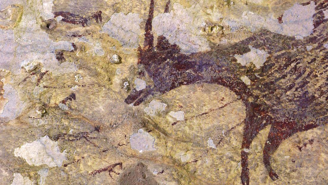 Hallan en Indonesia la pintura rupestre figurativa más antigua de la humanidad (FOTOS, VIDEO)