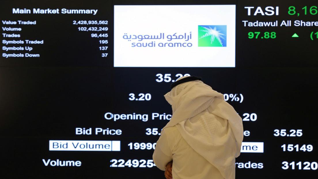 Saudi Aramco alcanza 2 billones de dólares de valoración