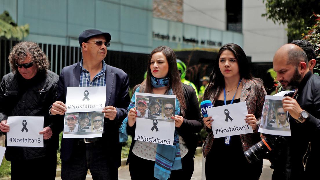 CIDH atribuye secuestro y posterior asesinato de periodistas de El Comercio a descoordinación de fuerzas militares de Ecuador