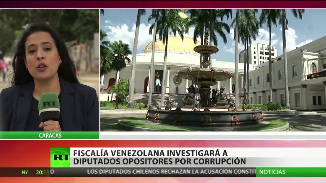 La Fiscalía de Venezuela investigará a diputados opositores por corrupción