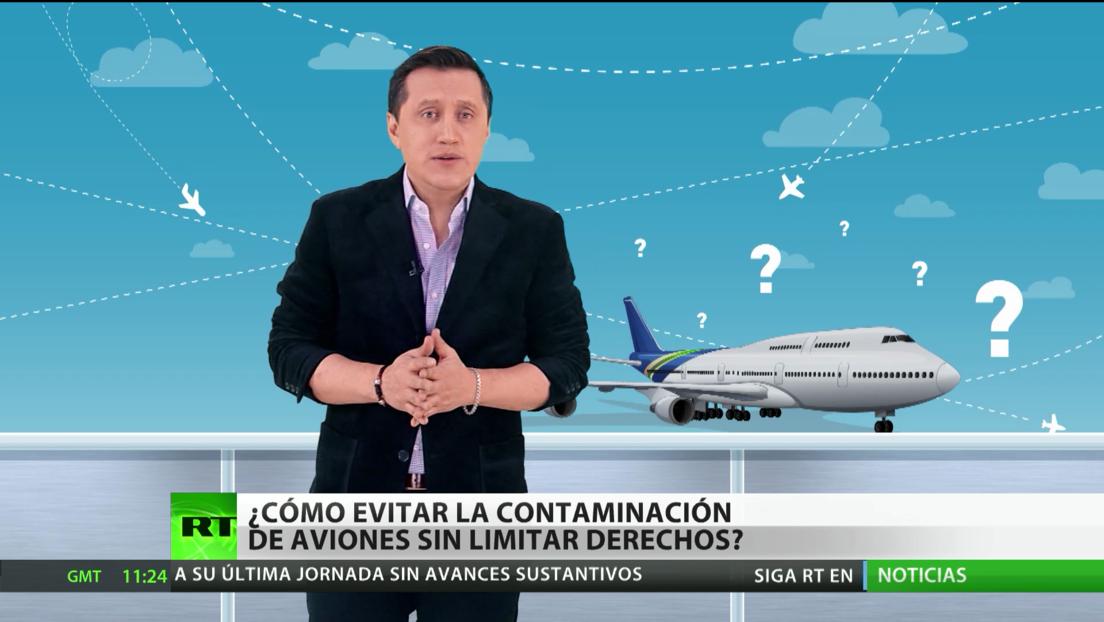 ¿Cómo evitar la contaminación de aviones sin limitar derechos?