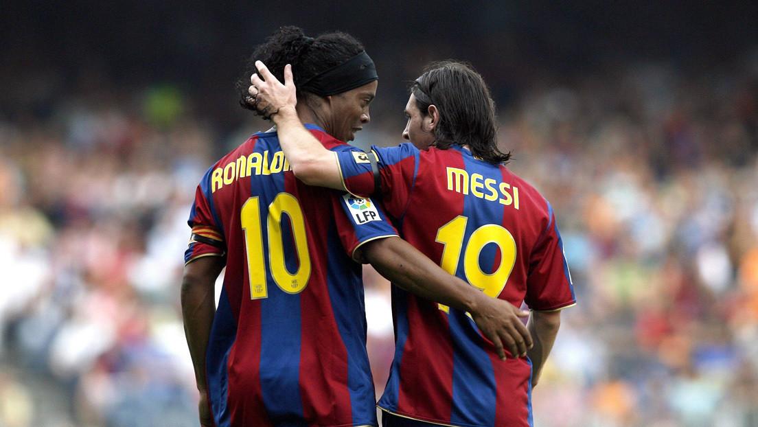 Ronaldinho no considera a Messi el mejor futbolista de la historia