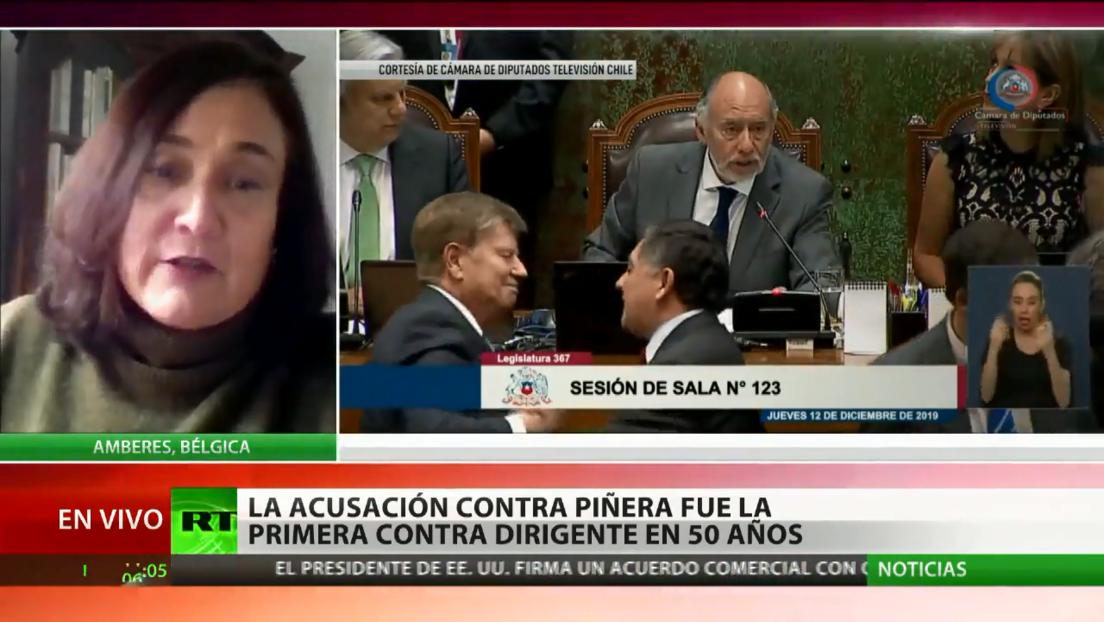 """Exministro Chadwick sale como """"chivo expiatorio"""" del proceso político contra Piñera en Chile"""