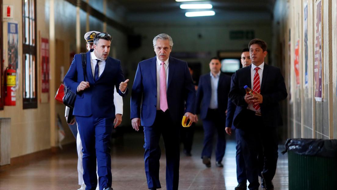 Alberto Fernández no renuncia a la docencia: el presidente acudió a la universidad a examinar a sus alumnos