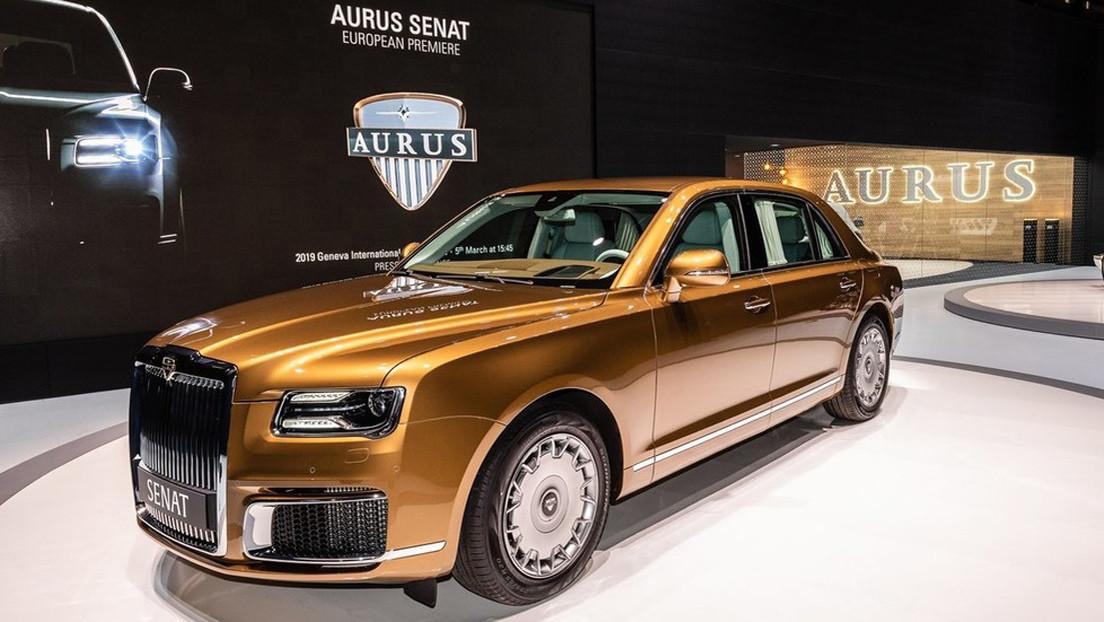 Rusia lanzará en 2021 la producción en serie de los automóviles Aurus, la marca de la limusina de Putin
