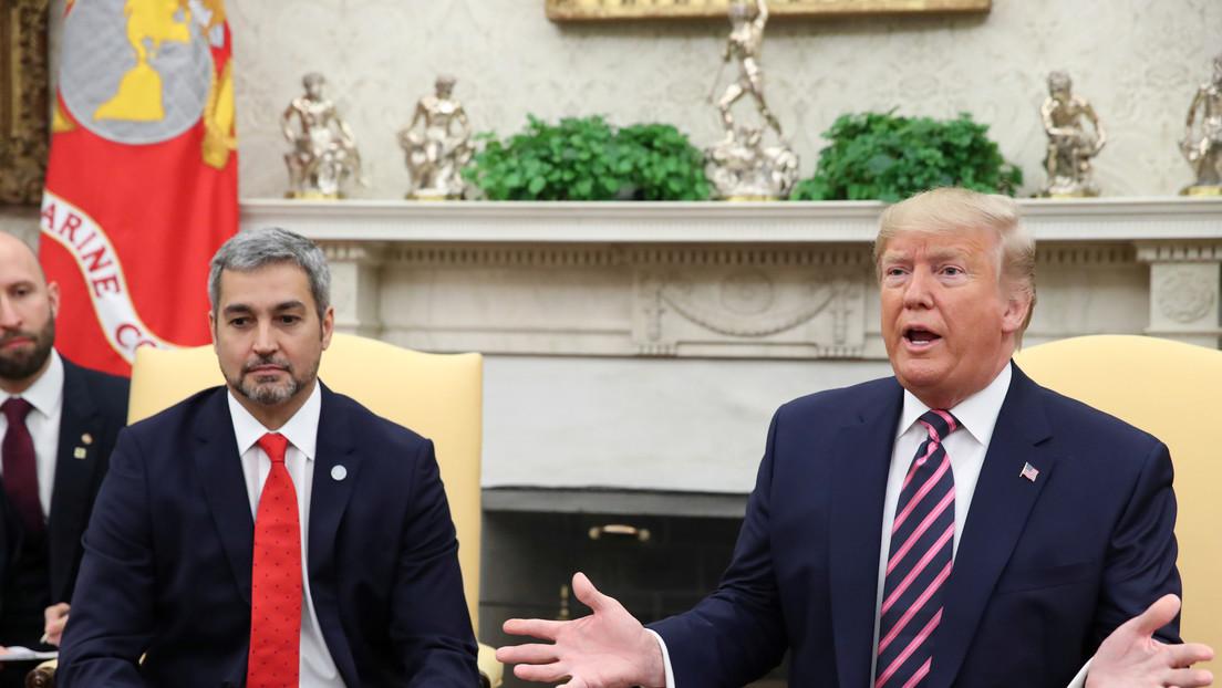 Trump recibe al presidente de Paraguay para discutir sobre Venezuela y Bolivia en Washington
