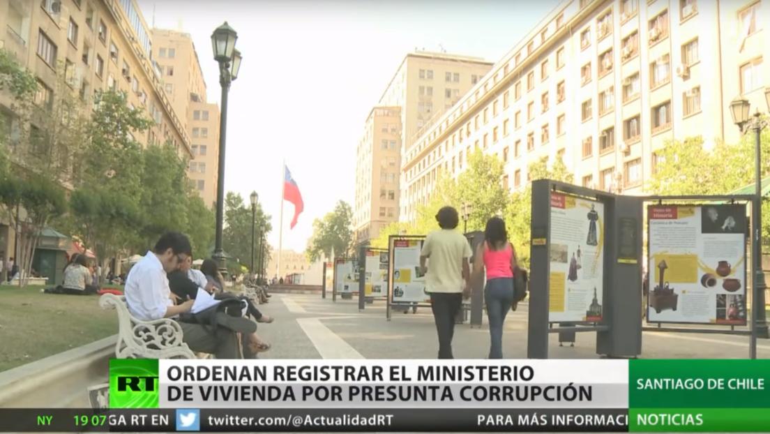 Chile: Ordenan registrar el Ministerio de Vivienda por presunta corrupción