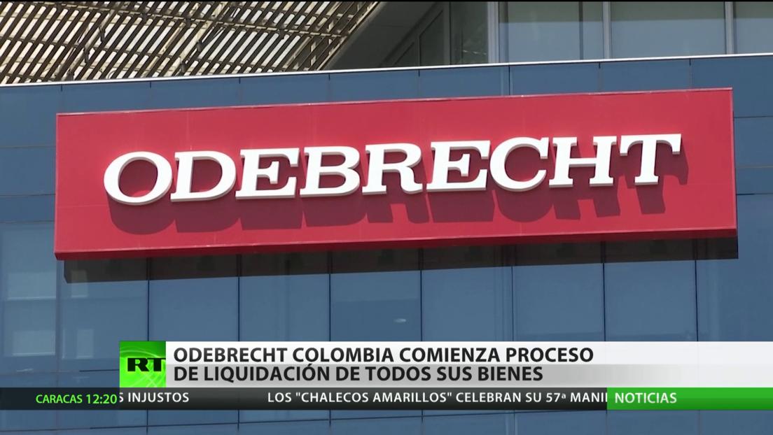 Odebrecht comienza el proceso de liquidación de todos sus bienes en Colombia