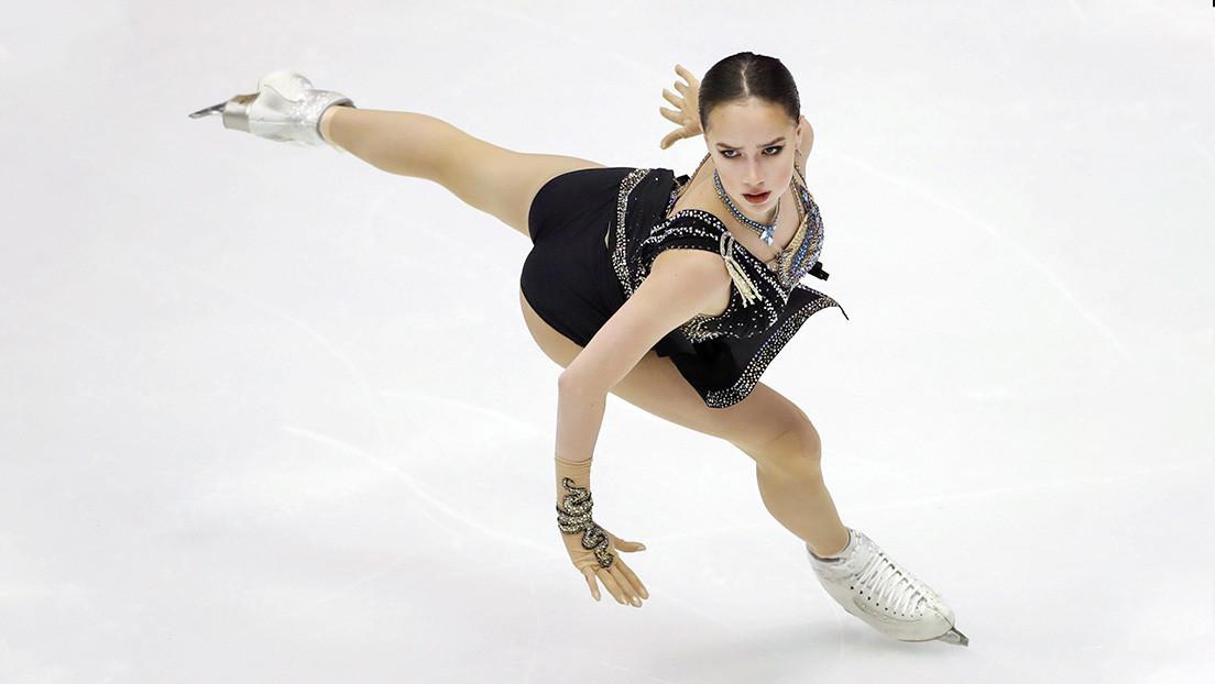 """La patinadora olímpica rusa de 17 años Alina Zaguítova anuncia que se tomará un descanso tras ganar """"todo lo posible"""""""