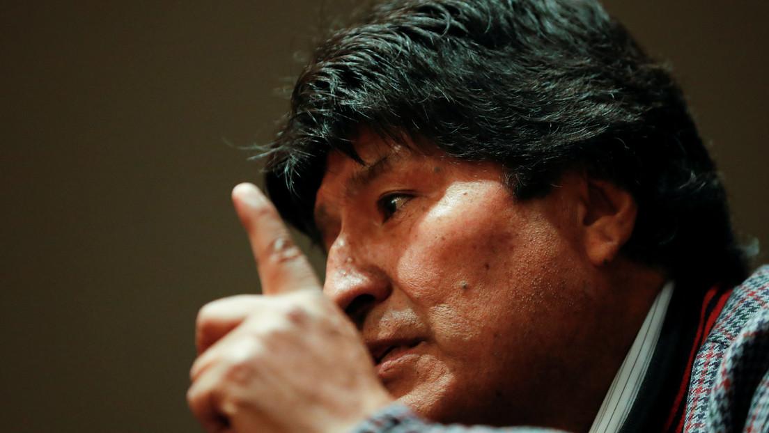 Jeanine Áñez espera que en los próximos días se emita una orden de captura contra Evo Morales