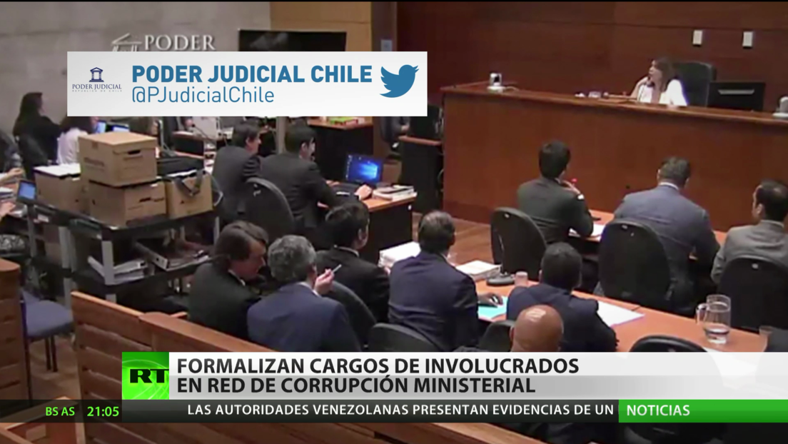 Chile: Formalizan cargos a involucrados en una red de corrupción ministerial