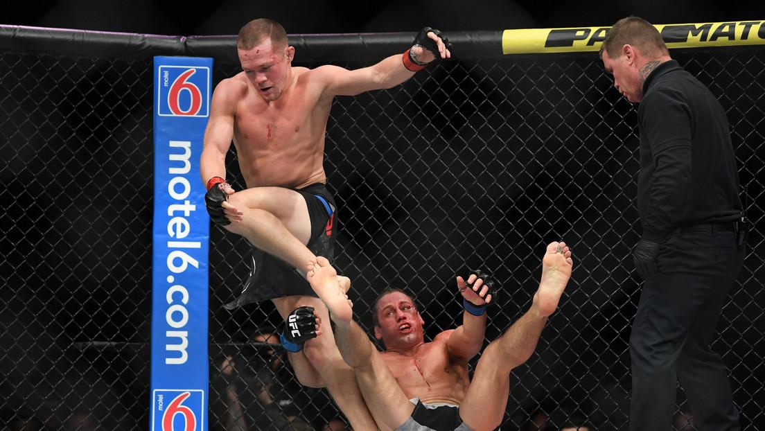 VIDEOS: Luchador ruso noquea a una leyenda de la UFC con una espectacular patada