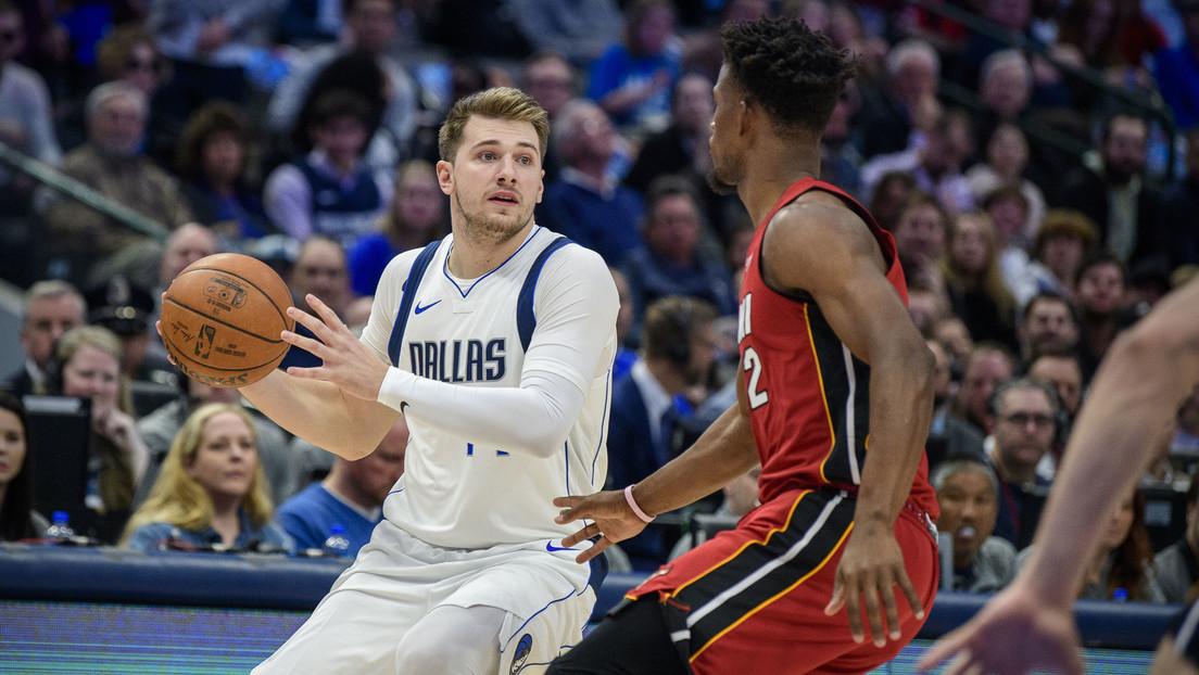 VIDEO: La lesión de la joven estrella de la NBA Luka Doncic de la que todos hablan