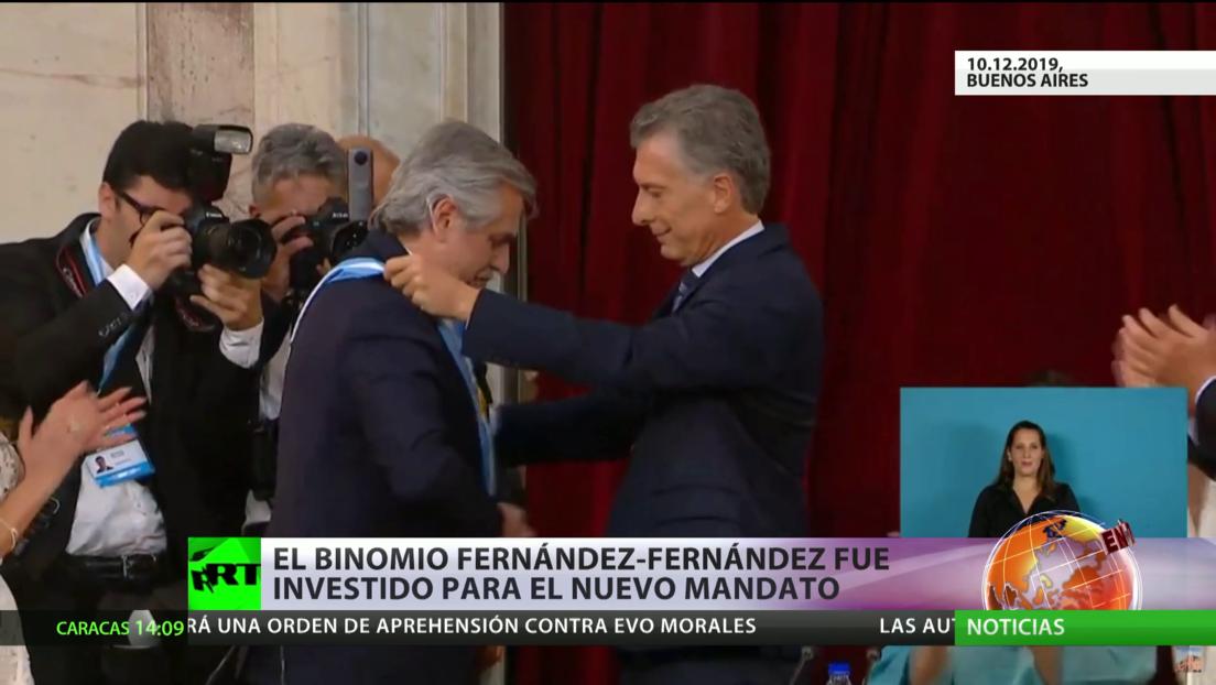 El binomio Fernández-Fernández salta a la arena política de Argentina