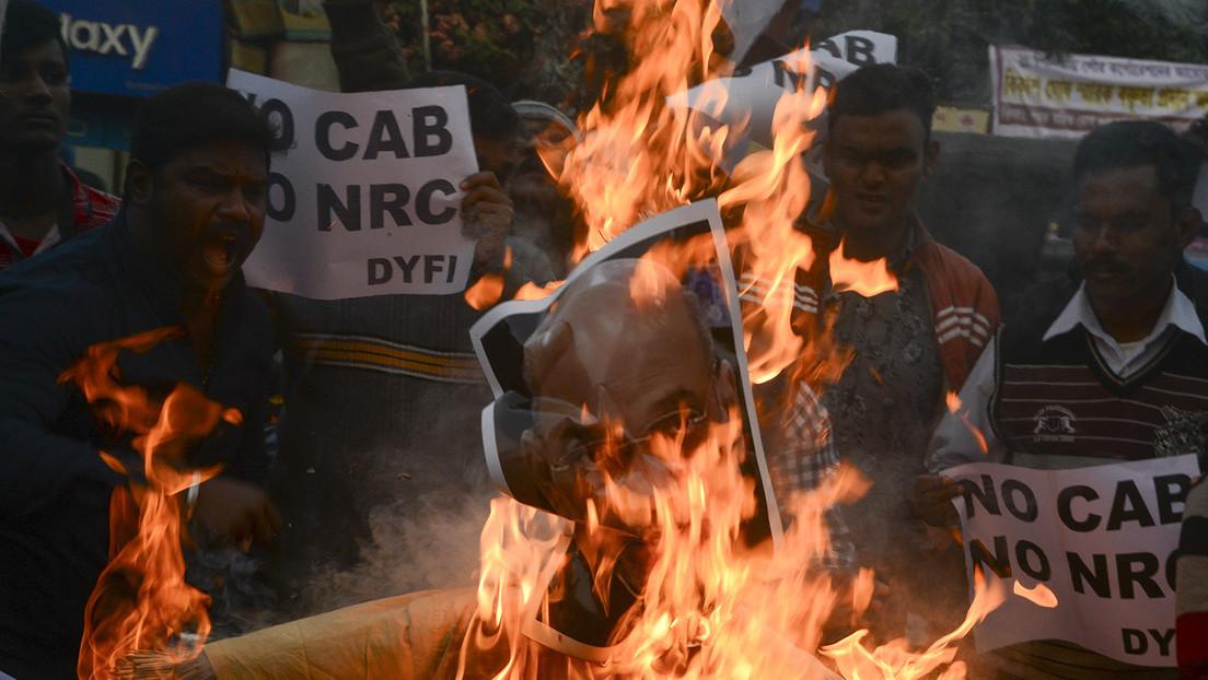 Muertos y heridos durante las protestas en India por la nueva ley sobre ciudadanía que los musulmanes estiman discriminatoria