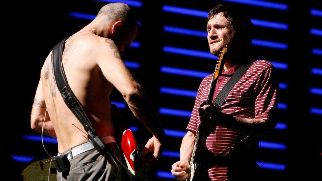 Red Hot Chili Peppers anuncia el regreso a la banda del guitarrista John Frusciante