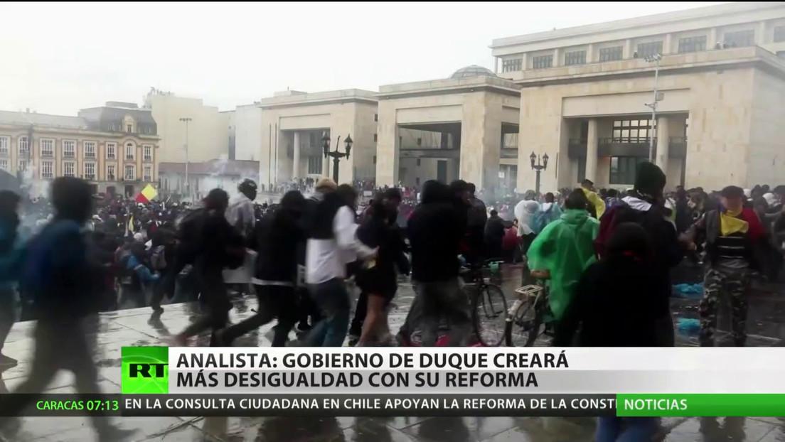 Experto: La reforma tributaria de Iván Duque creará más desigualdad en Colombia