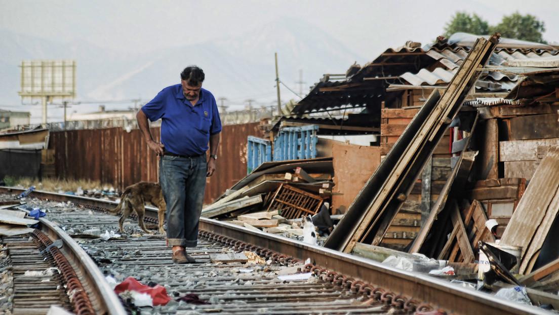 La crisis de la vivienda en Chile obliga a muchas familias a vivir en campamentos