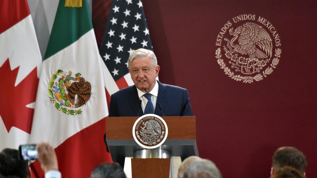 """López Obrador, sobre la polémica legislación paralela en EE.UU. del T-MEC: """"Es un asunto clandestino y no se acordó"""""""