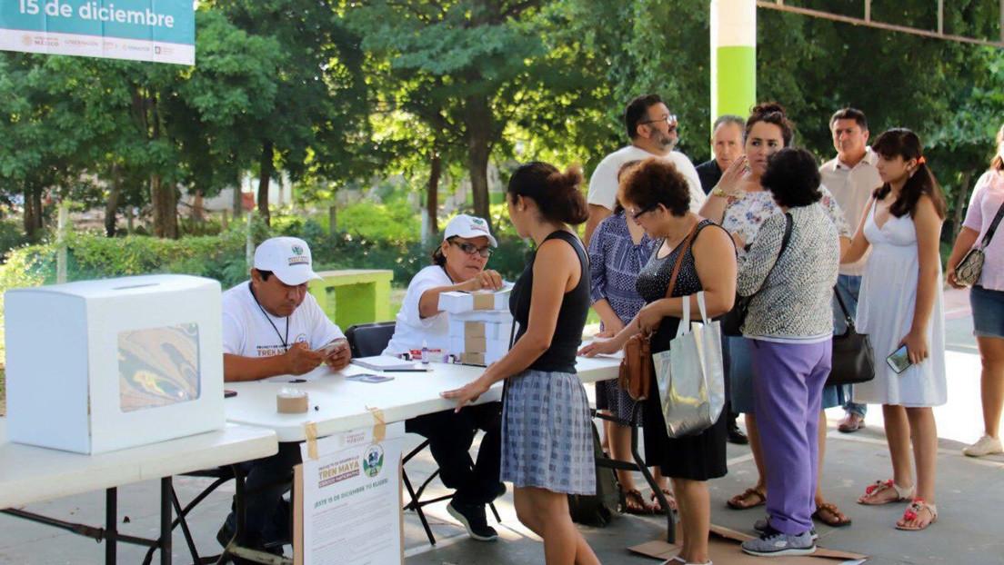 El Tren Maya en México aprueba en las cinco consultas ciudadanas que decidían su futuro