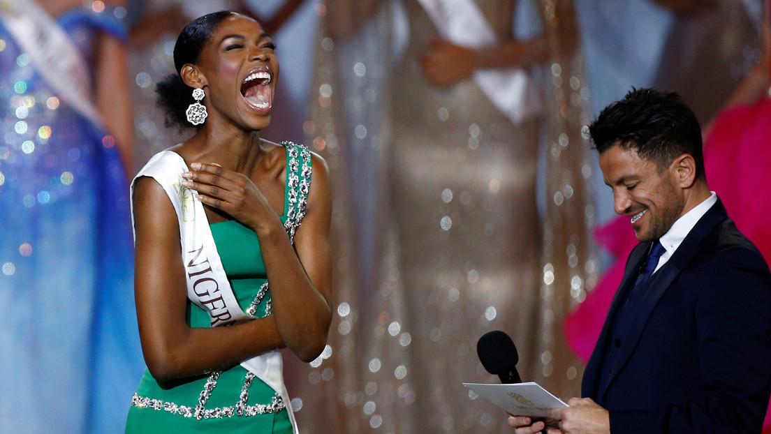 VIDEO: La sentida reacción de Miss Nigeria 'eclipsa' la victoria de su compañera de Jamaica en el certamen Miss Mundo