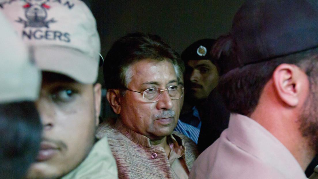 Un tribunal especial de Pakistán condena a muerte al expresidente Pervez Musharraf por alta traición