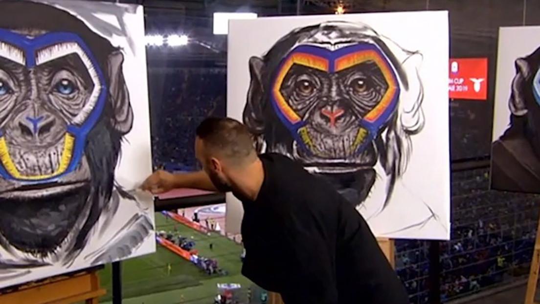 """La liga italiana de fútbol usa la imagen de monos en una campaña antirracista tachada de """"broma de mal gusto"""""""