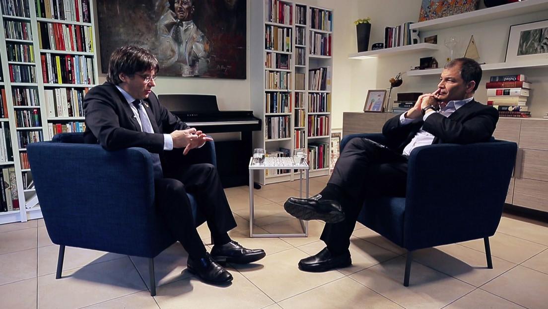 Puigdemont con Correa y un supuesto 'hackeo' a TVE: ¿qué se sabe?