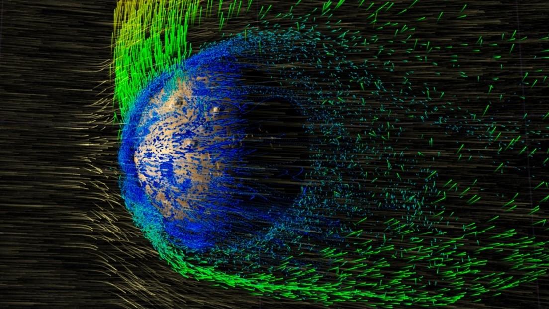 Auroras polares en Marte: no son como en la Tierra y tienen que ver con escapes de agua