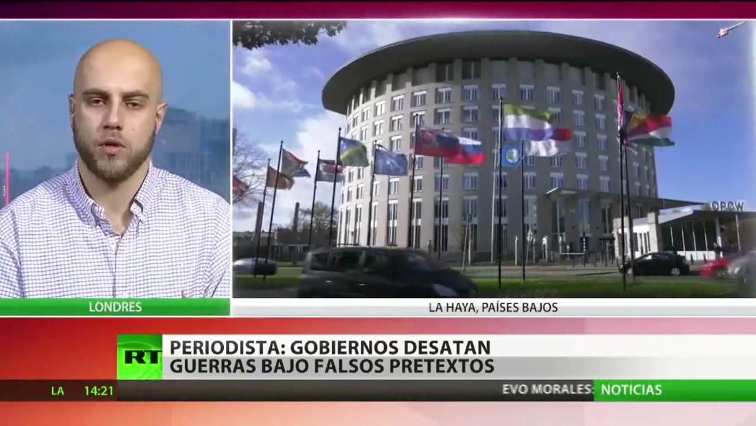Periodista denuncia el silencio de los medios sobre el informe de la OPAQ