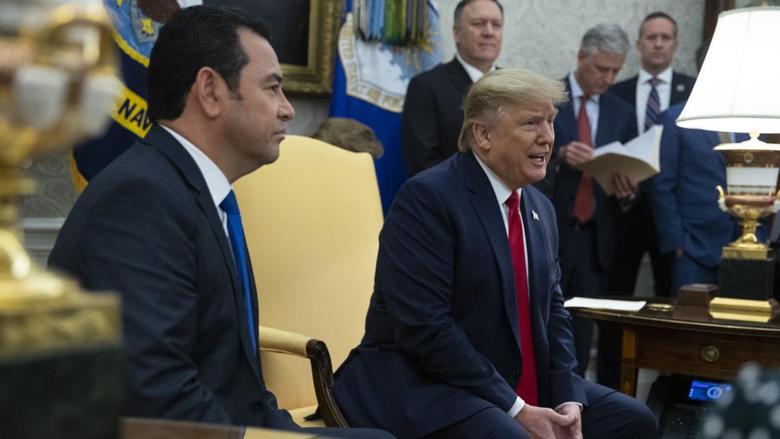 """""""En Guatemala tratan estas cosas mucho más duro"""": Trump se queja de la inmunidad de uno de los principales encargados de su 'impeachment'"""