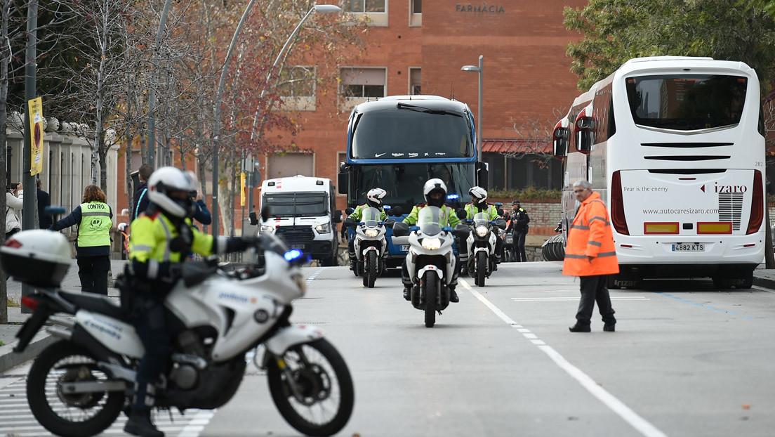 3.000 agentes y dos anillos de seguridad: fuerte dispositivo en el 'Clásico' entre Barcelona y Real Madrid