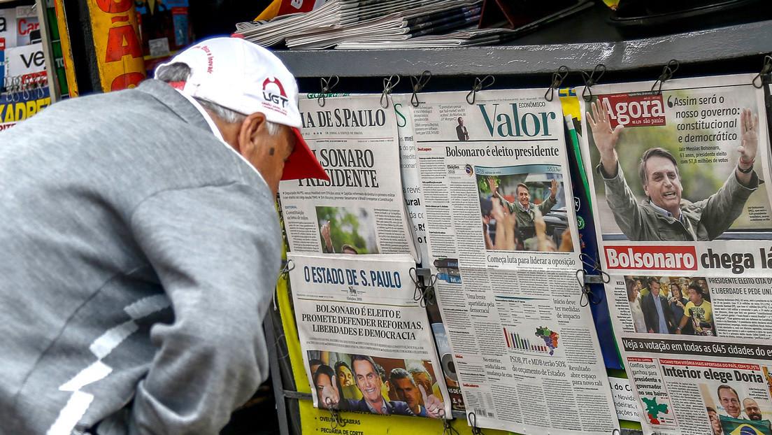 El gurú de Bolsonaro lanza un periódico conservador que promete respetar los valores católicos