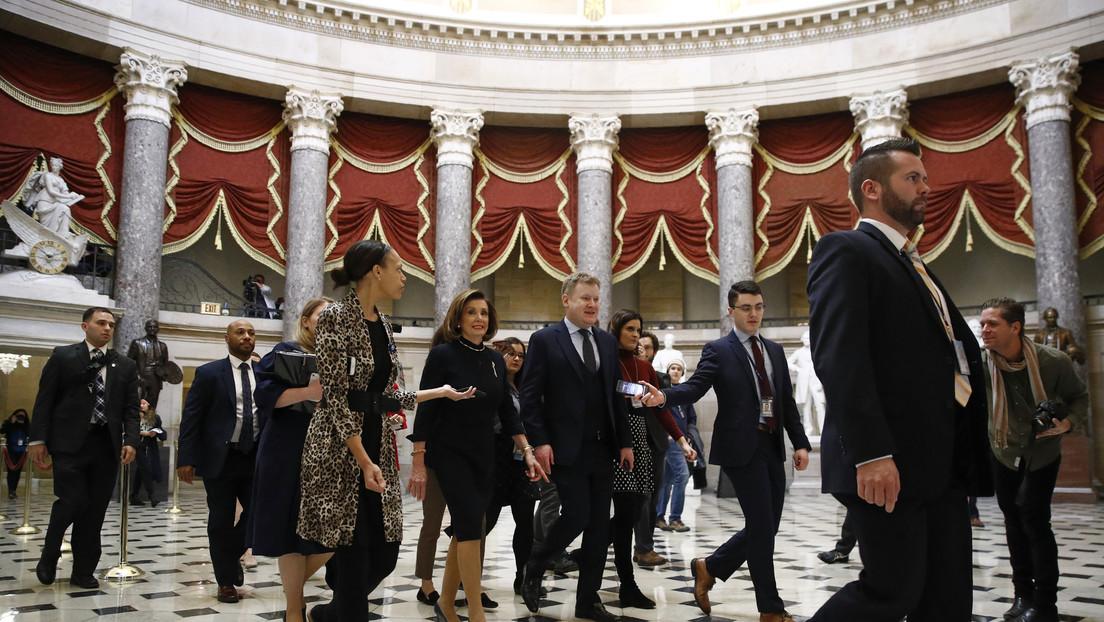 La Cámara de Representantes debate sobre el 'impeachment' contra Donald Trump