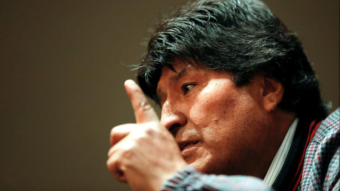 """La Fiscalía de Bolivia dicta orden de detención contra Evo Morales por """"sedición y terrorismo"""""""