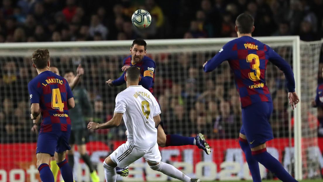 El F.C. Barcelona y el Real Madrid empatan a cero en el 'Clásico' por primera vez en 17 años