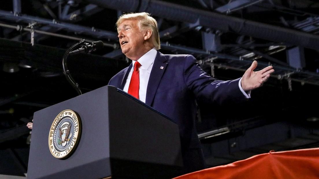 """Trump: """"Este 'impeachment' partidista e ilegal es una marcha política suicida para el Partido Demócrata"""""""