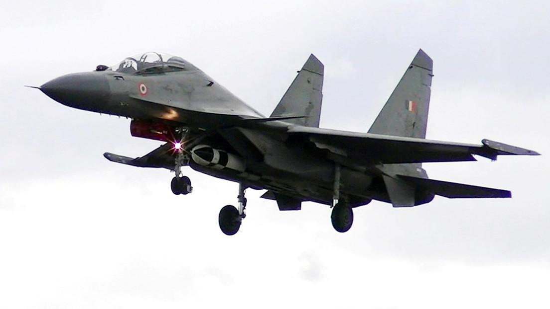 VIDEO: Los cazas Sukhoi de la Fuerza Aérea india integran el misil aire-superficie BrahMos-A