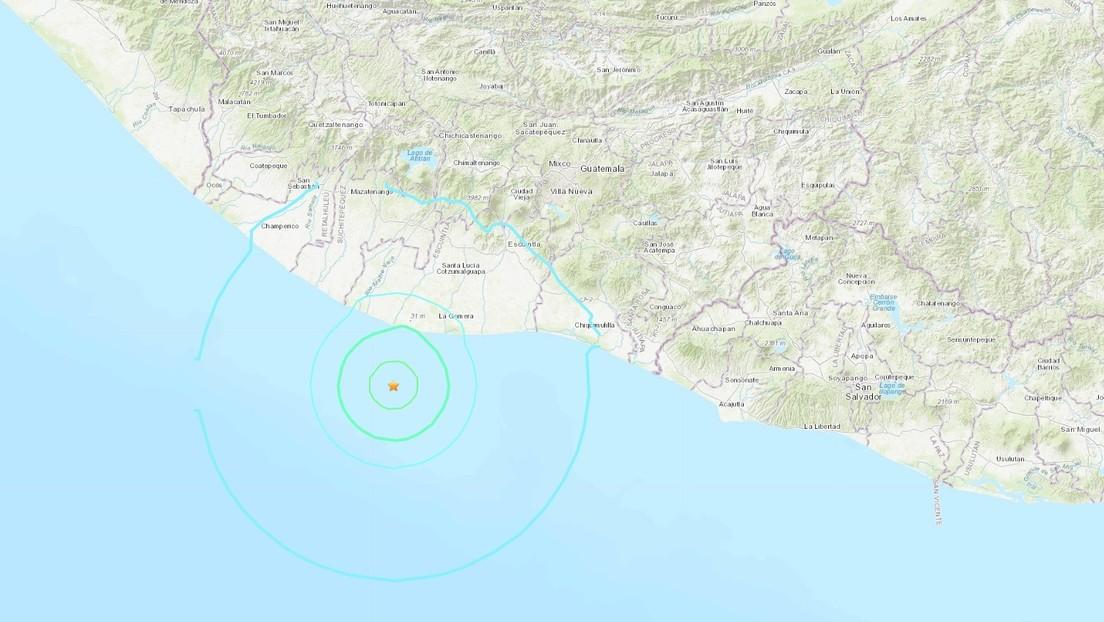 Un sismo de magnitud 6 se siente en Guatemala, El Salvador y México