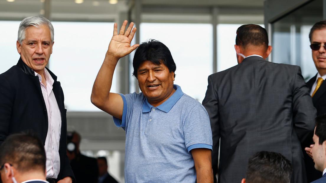 Evo Morales envía a López Obrador una carta de agradecimiento a México